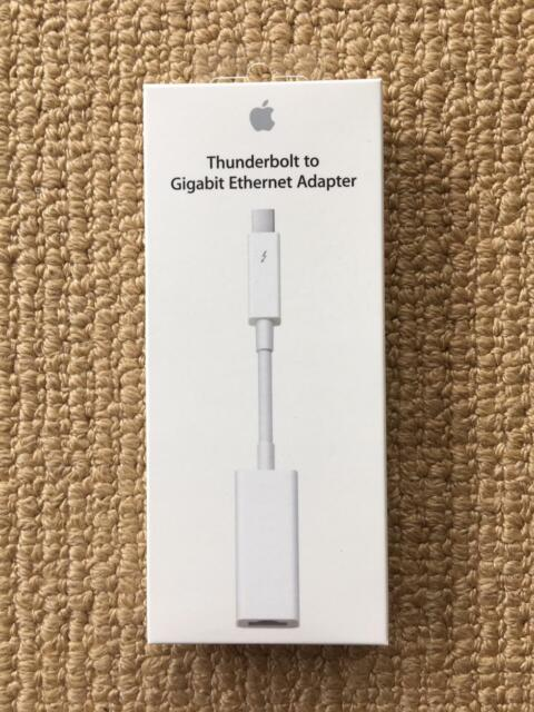 Apple A1433 Thunderbolt to Gigabit Ethernet Adapter RJ45 cable