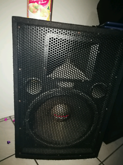 Speakers and Amplifier.
