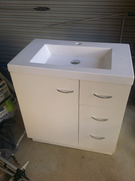 Bathroom Vanity Joondalup bathroom vanity and sink | building materials | gumtree australia