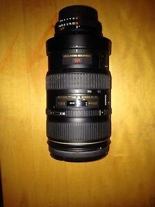 Nikon 80-400mm AF VR Lens