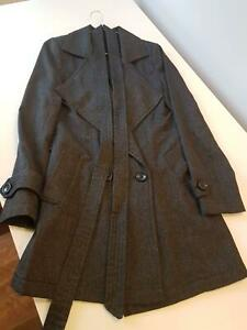 Wish Size 8/ XS Grey Fitted Coat Wollongong Wollongong Area Preview