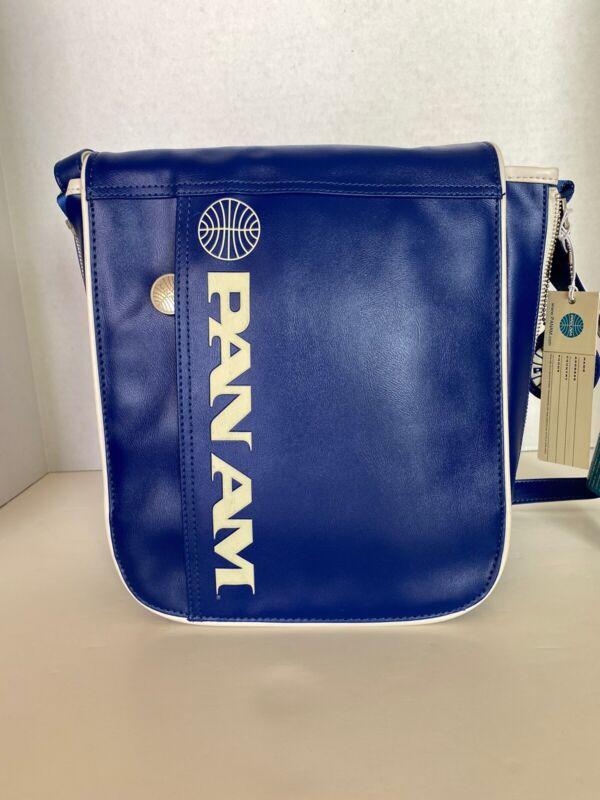 "PAN AM ""UNI Reloaded"" Bag Originals Certified Vintage Style Pan Am Blue"