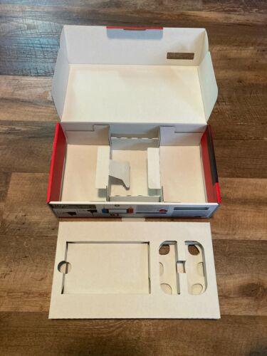 Empty Nintendo Switch Console Bundle Box + Packaging/Inserts *MINT* NO CONSOLE