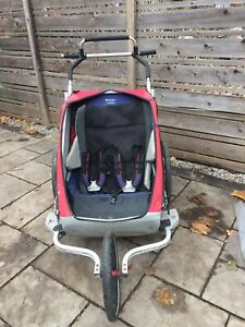 Chariot double jogger