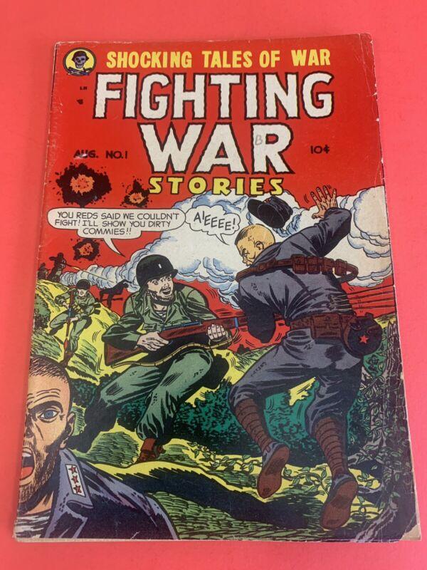 FIGHTING WAR STORIES # 1 (1952) MEN