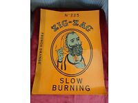 Window-Cling Poster Promo Zig Zag Rolling Paper Organic Hemp