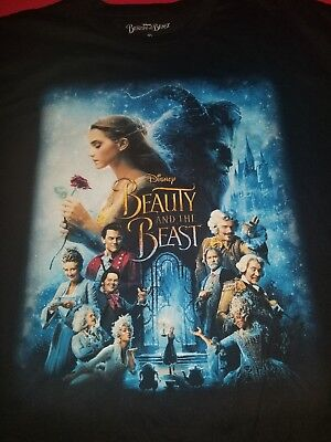 Beauty and the beast Disney movie T-shirt XL for men original (Beauty And The Beast T Shirts For Adults)
