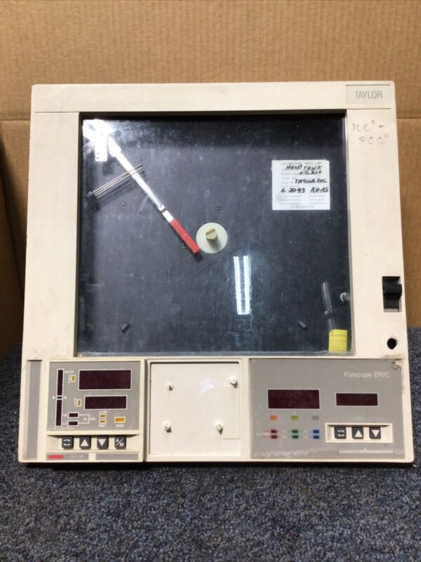 Taylor Combustion engineering chart recorder ER/C Fulscope