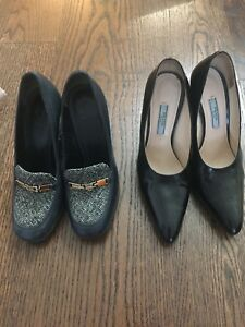 Pre-owned Prada/Tory Burch shoes