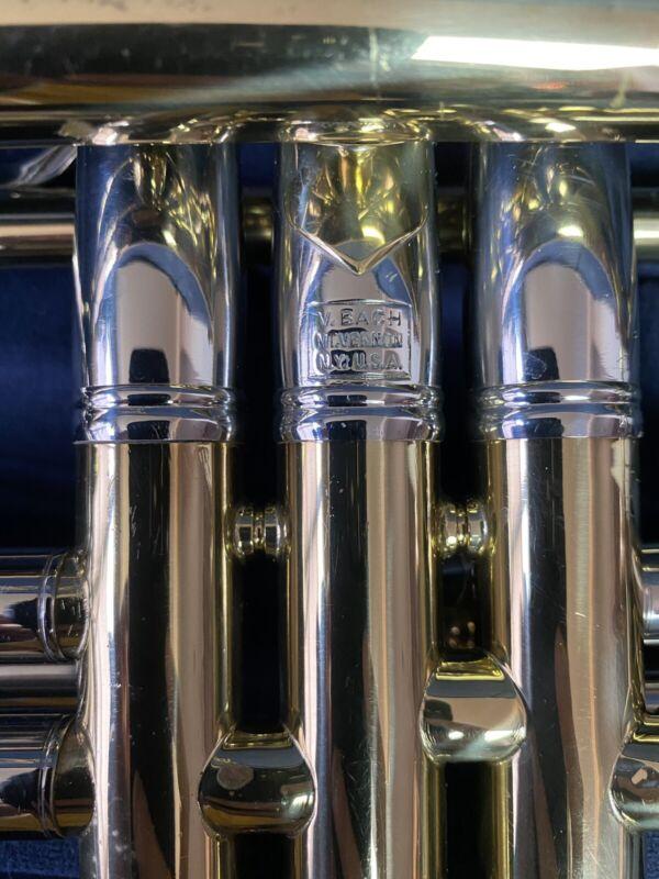 Bach Mt. Vernon New York Stradivarius Trumpet - 180 / 37 Lacquer. Historic!!