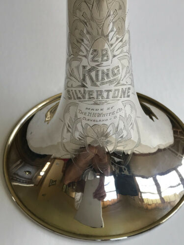 Vintage (circa 1940) King 2-B Silver-Sonic Trombone