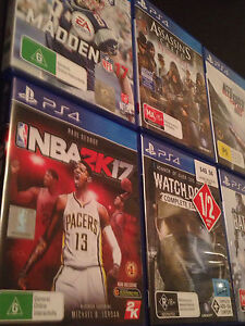 PS4 GAMES FOR SALE Forest Hill Whitehorse Area Preview
