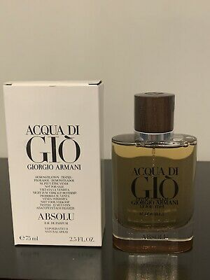 Giorgio Armani Acqua Di Gio Absolu EDP. Tstr Box  Spray 2.5.  Authentic!!