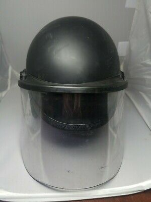 Helmet Super Seer Tactical Police W Protective Safety Shield Size Xs S1611-600