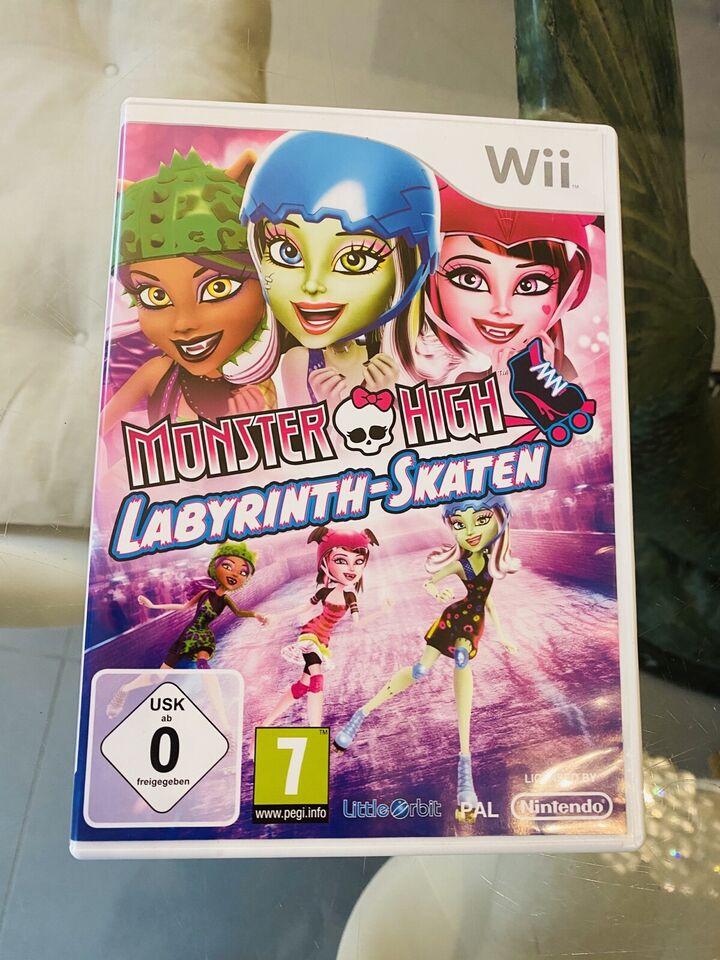 Monster High Nintendo Wii Labyrinth-Skaten Spiel*Top Zustand!* in Köln - Widdersdorf