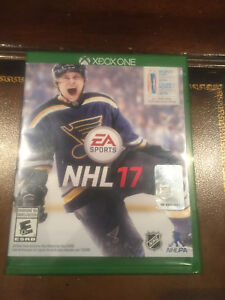 Jeu Xbox one NHL 2017
