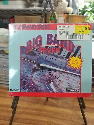 Big Band Fever 28 All Time best jazz digitally mastered (CD, 2 Discs) brand