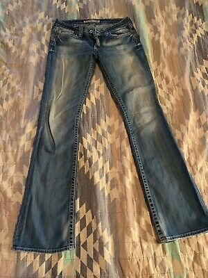 Big Star Remy Low Rise Boot Cut Jeans Size 28 Long - Big Star-boot