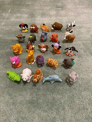 Fisher Price Little People A To Z Learning Zoo Alphabet Animals LOT OF 25 (NO I)