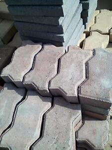 40 Pavers 230x110x60 red concrete. Beverley Charles Sturt Area Preview