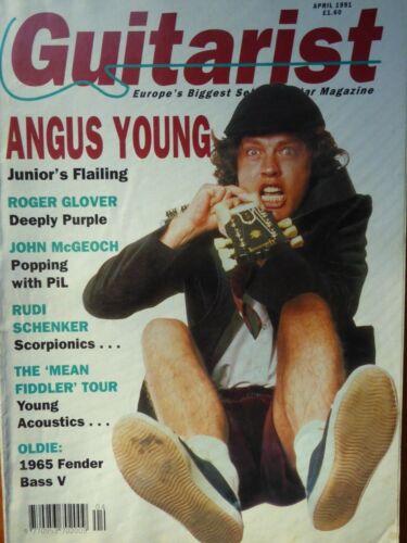 Guitarist Magazine - April, 1991
