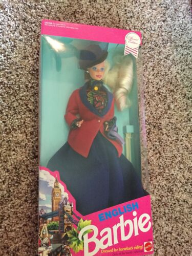 Vintage Barbie 1991 Special Edition English Dolls Of The World Collection MINT  - $32.00