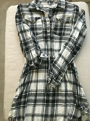Ladies Abercrombie and Fitch tie waist shirt dress size M