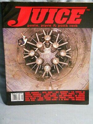 Juice Skateboard Magazine Pools, Pipes & Punk Rock Issue #68 2011 Arto Saari