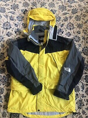 Vintage The North Face Black And Yellow Jacket Size L Large