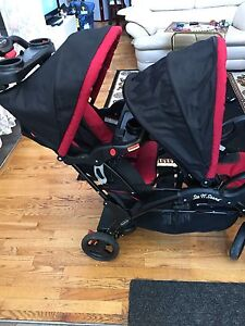Baby trend sit and stand double stroller eclipse