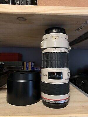 Canon EF 70-200mm 70-200 f/4L f/4 f4L f4 L IS USM