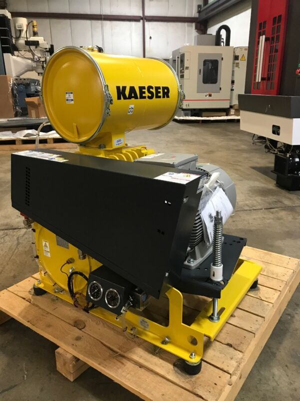 NOS 30hp Kaeser DB236C Rotary Lobe Blower Package See Specification Tag in Photo