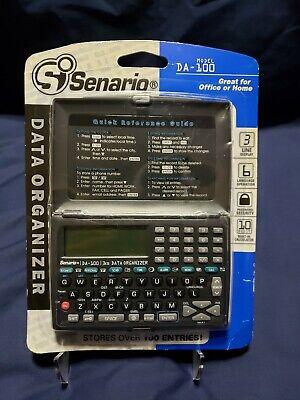 Senario Data Organizer Da-100 Homeschool Or Office Calculator 6 Language