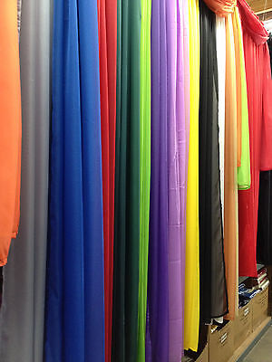 """New Sheer Window Scarf Valance Topper Curtain Drapes in Many Colors, 216"""" Long"""