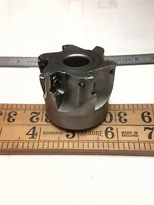 Ingersoll 2 Face Mill 2j1x-20r02 Milling Cutter - No Inserts