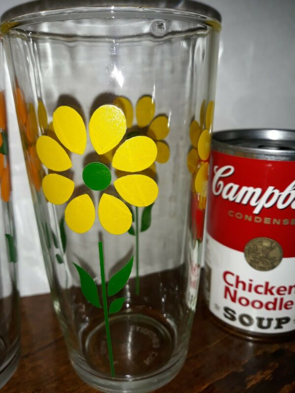 Vintage Sour Cream Glass Yellow