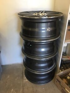 4 aluminum rims 17 inches