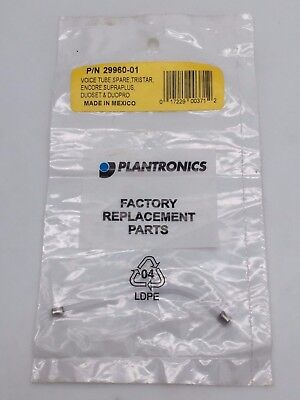 Plantronics 29960-01 Voice Tube Replacement Clear Tristar Duoset Duopro x 12 Plantronics Clear Voice Tube