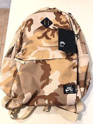 Nike SB Skateboarding Icon Backpack 26L Desert Camo - Brand New With Tags*