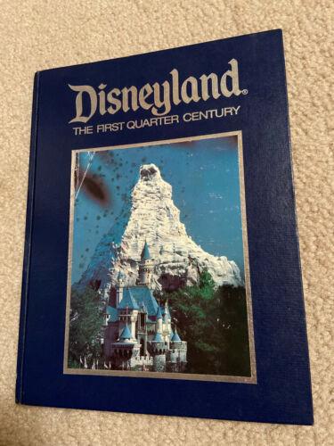 Walt Disney Productions Disneyland The First Quarter Century Hardcover Book 1979