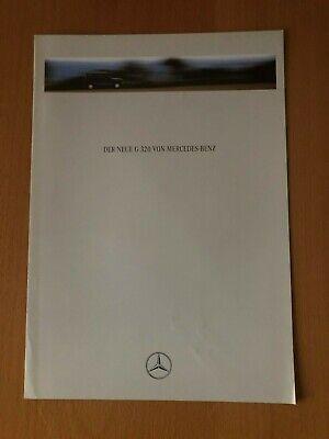 Mercedes-Benz - der Neue G 320 - Prospekt - 08/1993