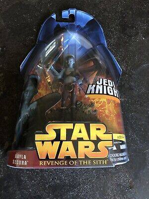 Star Wars Revenge of the Sith Jedi Knight Aayla Secura 3.75 Clone Wars RARE