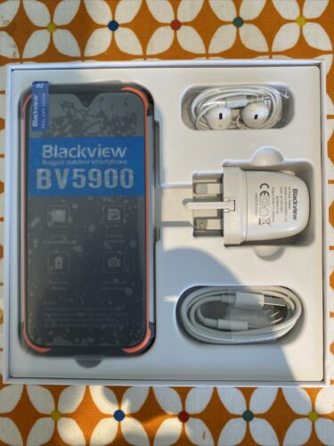 """Android Phone - Blackview BV5900 Rugged Mobile Phone 5.7"""" Android 9.0 Outdoor Smartphone"""