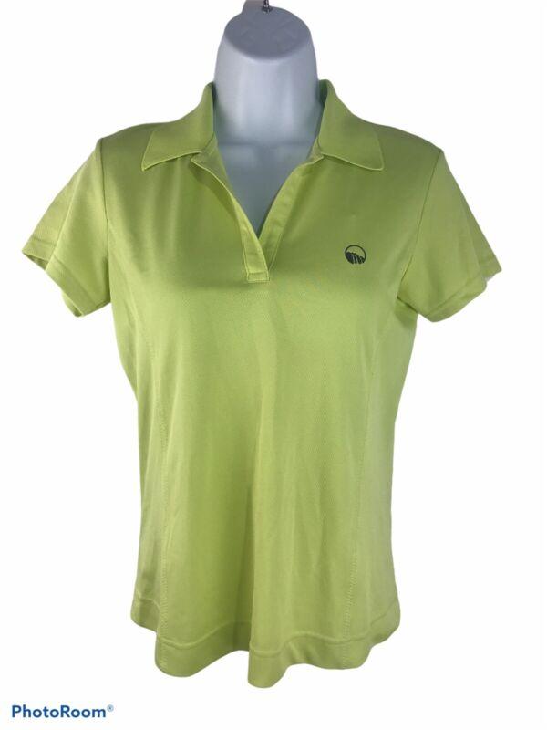 NWT Sport Haley Womens XS Green Polo Style Shirt