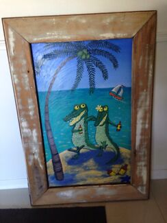 Gorgeous hand painted picture Cleveland Redland Area Preview