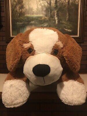 """GIANT"" - GOFFA - Brown Plush Dog (Giant Plush Dog)"