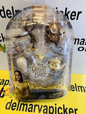 Disney Doll House Furniture Beauty and The Beast Castle Collection