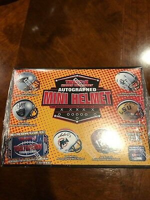 - BUFFALO BILLS Tristar NFL Autograph Football Mini Helmet Live Break #183