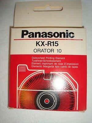 Panasonic Kx-r13 Script 1012 Daisywheel Printing Element