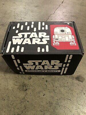Star Wars Smuggler's Bounty Box Droids Funko Pop R5D4 C3PO